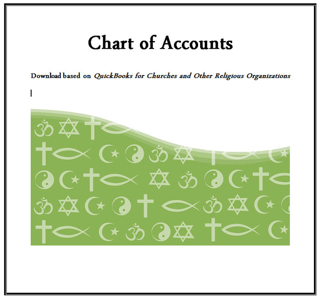 EBook QuickBooks® for Churches and Other Religious Organizations