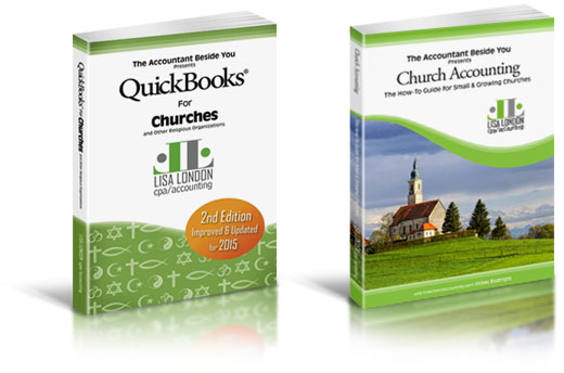 Money Saving Bundle with QuickBooks for Churches Book