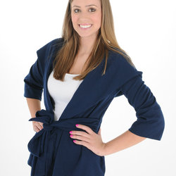 Its A Wrap Jacket - Navy