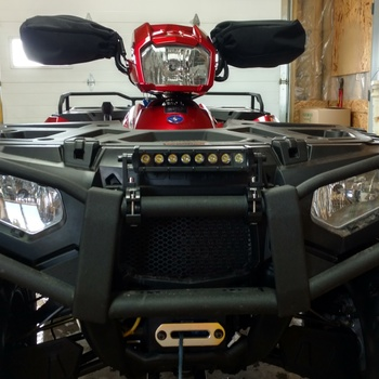 8 inch cree led straight light bar pair 70718bl rough 8 inch cree led light bar black series awesome atv light mozeypictures Image collections