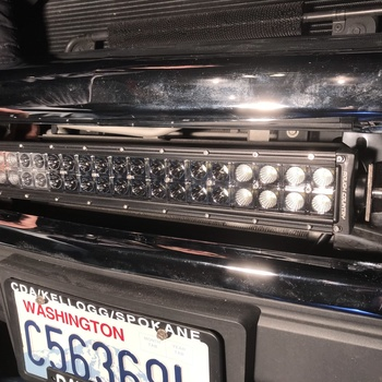 20 inch cree led light bar 70920 rough country suspension systems 20 inch cree led light bar dual row chrome series great mozeypictures Image collections