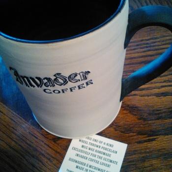 Mug coffee french vintage