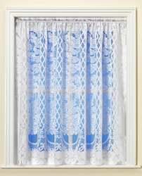 Vienna White Net Curtain