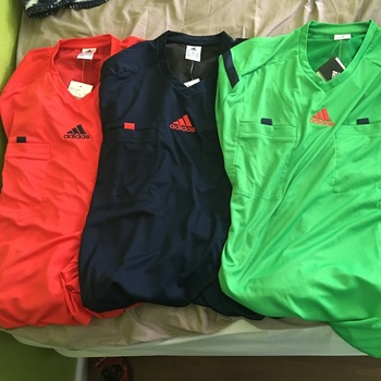 cdc9540ff 2014 Adidas Referee Jersey Short Sleeve (Green) Adidas 2014 referee