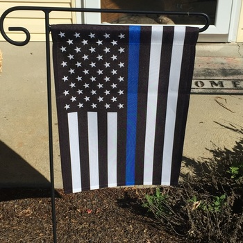 thin blue line american garden flag 125 x 18 inches fast accurate service