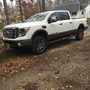 2in Leveling Lift Kit For 2016 2019 2wd 4wd Nissan Titan Xd Pickups