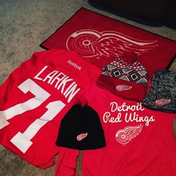 6dc93832783 Larkin #71 Detroit Red Wings Men's Reebok Premier Home Jersey Amazing