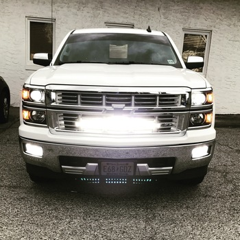 Chevrolet 30in Curved Cree LED Grille Kit | Dual Row (14 15 Silverado 1500