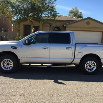 2in Leveling Kit For 17 19 Nissan Titan Rough Country Suspension