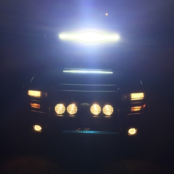 50 Inch Curved Cree LED Light Bar   (Dual Row | Chrome Series)