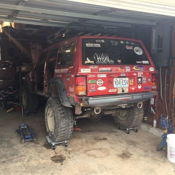 65in Jeep Long Arm Suspension Lift System 84 01 XJ Cherokee 66