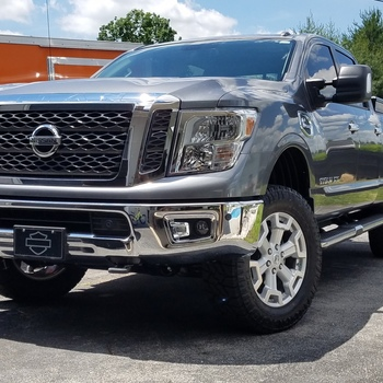 2in Leveling Lift Kit For 2016 2018 2wd4wd Nissan Titan Xd Pickups
