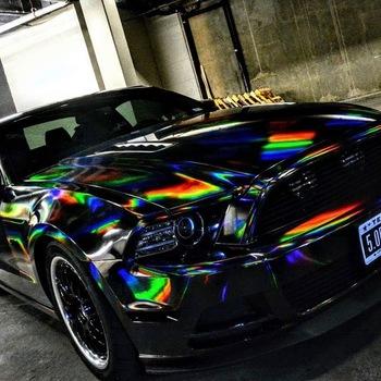Holographic Chrome Black Concept Lmtd The Vvivid Shop