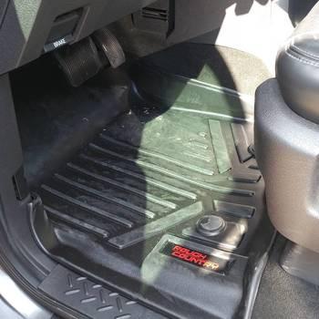 Heavy Duty Floor Mats Front Rear   Ford F