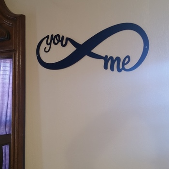 Infinity sign absolutely perfect
