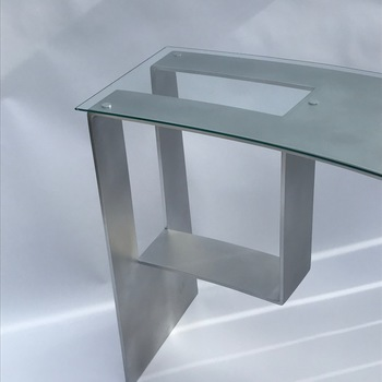 L: 53 X W: 22 Inch Glass Table Top Rectangle Shaped 1/4 Thick