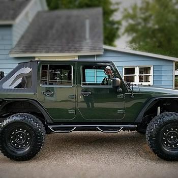1.25in Jeep Body Lift Kit (07 18 JK Wrangler 4 Door/