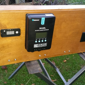 Renogy 100 Watt 12 Volt Solar Starter Kit w/ MPPT Charge Controller 100 Watt Kit For Our A Frame Camper