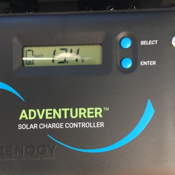 Renogy 100 Watt 12 Volt Monocrystalline Foldable Solar Suitcase with Adventurer 100 watt suitcase solar panel