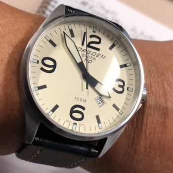 6122fee1c62 Black Leather Strap - 24mm Watch Strap