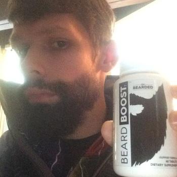 Beard Growth Vitamins - Beard Boost | Live Bearded