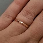 e17539ef21e On 14K White Gold 2mm Knife Edge Women s Wedding Ring