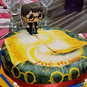 Geburtstagstorte Mit Funko Harry Potter Figur Deinetorte De