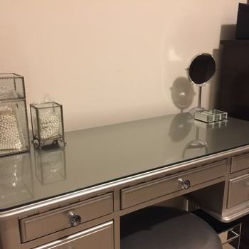 Glass table tops shop online dulles glass mirror dulles 24 square glass table top watchthetrailerfo