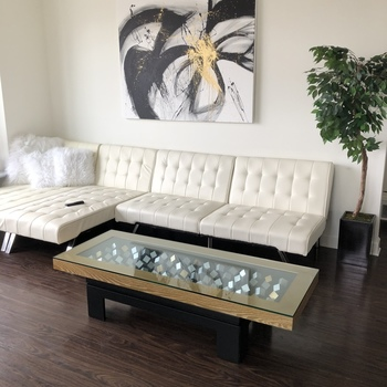 Glass table tops shop online dulles glass mirror dulles 24 square glass table top 64 x watchthetrailerfo
