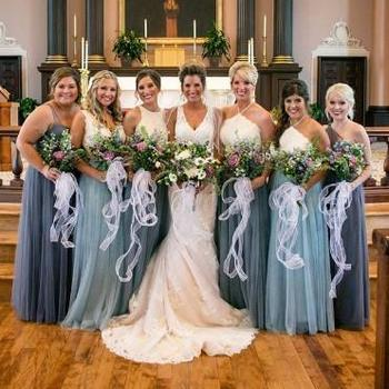 Bridesmaid Wrap Dress
