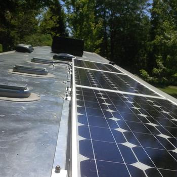 Renogy 100 Watt 12 Volt Monocrystalline Solar Panel Above my expectations!