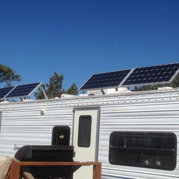 Renogy 100 Watt 12 Volt Monocrystalline Solar Panel Boondocking