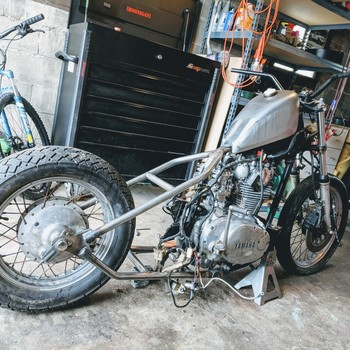 TC Bros  Yamaha XS650 Weld On Hardtail Frame