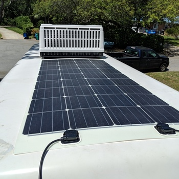 Renogy 160 Watt 12 Volt Flexible Monocrystalline Solar Panel Great product, easy to install