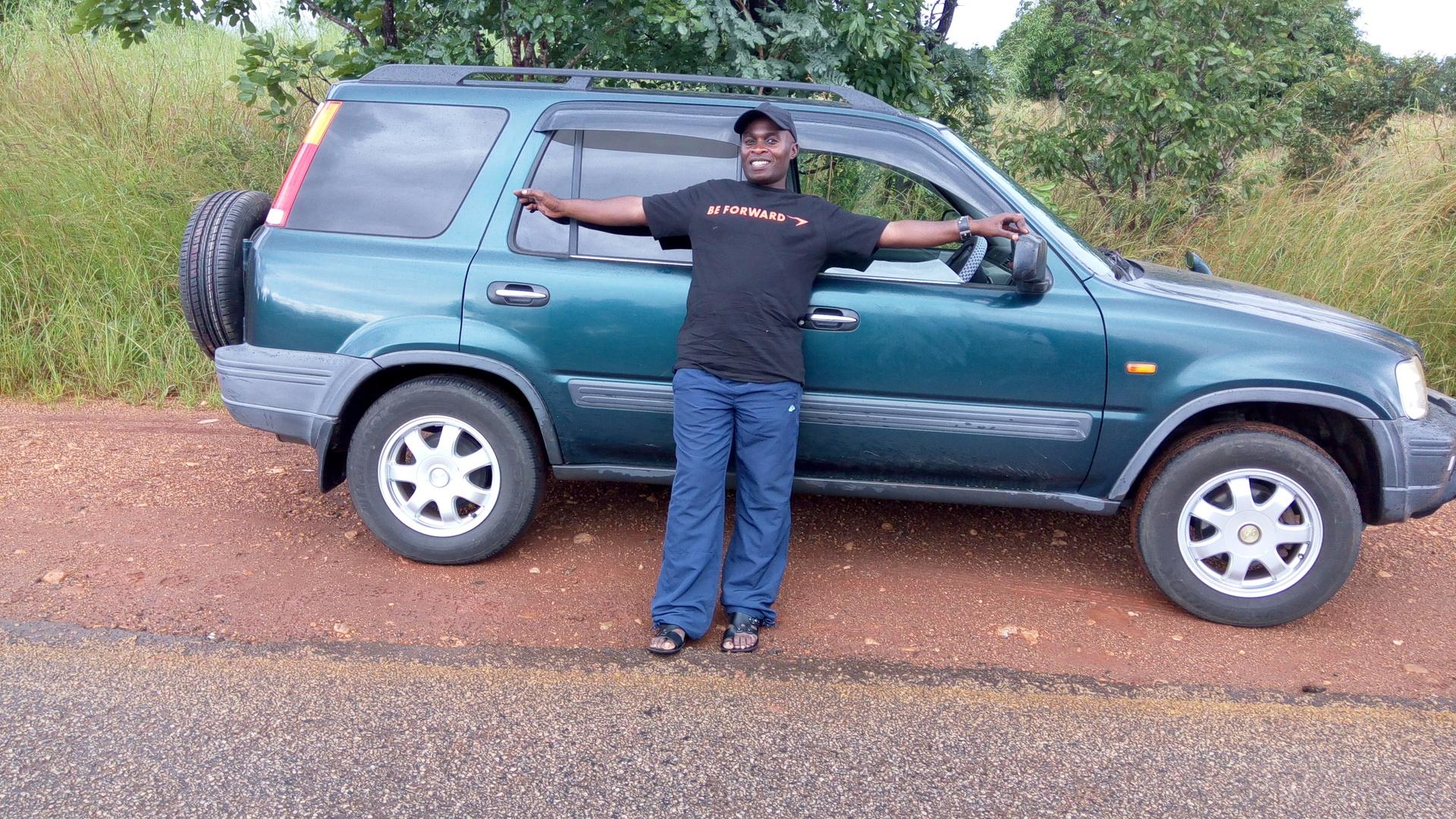 Used 1996 Honda Cr V 2 0 Base Grade 4wd E Rd1 For Sale Bg414370 Be