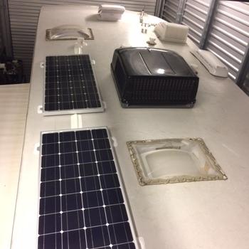 Renogy 100 Watt 12 Volt Monocrystalline Solar Panel Renogy 100watt panel