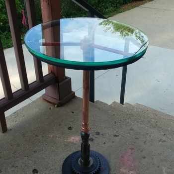 Best Of 41 Round Glass Table top
