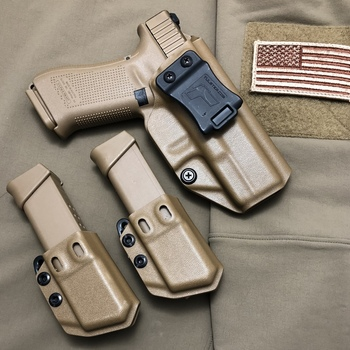 Glock 19 19x 23 25 32 Iwb Aiwb Kydex Holster Profile Holster Right Hand