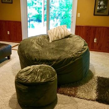 Ultimate Sack 6000 Bean Bag Chairs Foam Bean Bags Chair