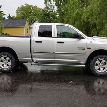 2 5in Front Leveling Lift Kit For 2012 2018 4wd Dodge Ram 1500