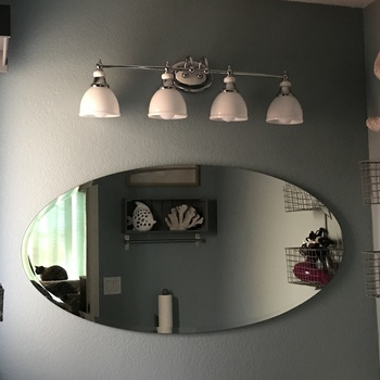 Rectangle Wall Mirrors Discounted Frameless Bathroom Rectangle Mirror