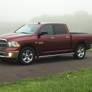 Soft Tri Fold Bed Cover For 2009 2018 Dodge Ram 1500 Pickup Rough