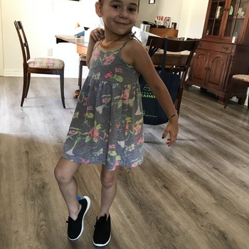 My 5 year old daughter