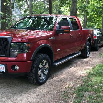 2in Leveling Lift Kit W N2 0 Shocks For 2014 Ford F 150 Pickup