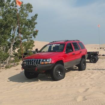 4in Jeep Suspension Lift Kit 99 04 Grand Cherokee WJ Good