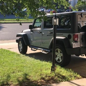 Jeep Wheel To Wheel Nerf Steps (07 18 JK Wrangler 4 Door)