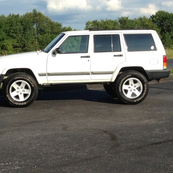 3in Series Ii Suspension Lift For 1984 2001 Jeep Xj Cherokee Rough