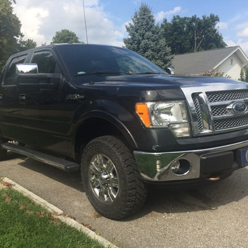 In Ford Leveling Lift Kit   Rough Country