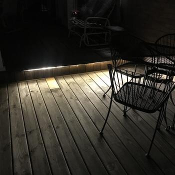 Led strip deck lights Solar Odyssey Led Strip Light By Aurora Deck Lighting Strip Light By Aurora Deck Led Strips Odyssey Led Strip Light By Aurora Deck Lighting Decksdirect