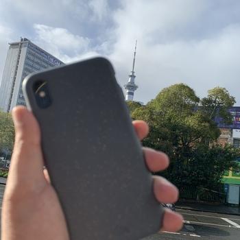 classic fit 9d5f3 bf4b3 Shark Skin Eco-Friendly iPhone X Case– Pela Case